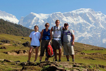 Family Adventure Holiday Nepal